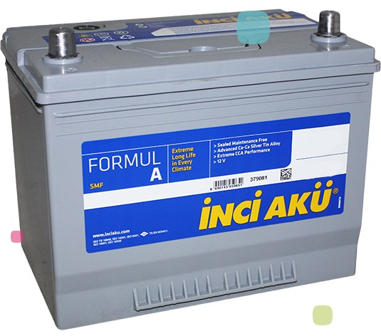 Аккумулятор Inci Aku FormulA Asia (D26 072 060 017)