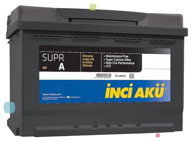 Аккумулятор Inci Aku SuprA (L2 055 049 013)