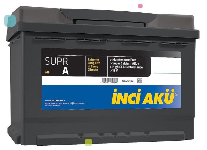 Аккумулятор Inci Aku SuprA (L2 055 049 113)
