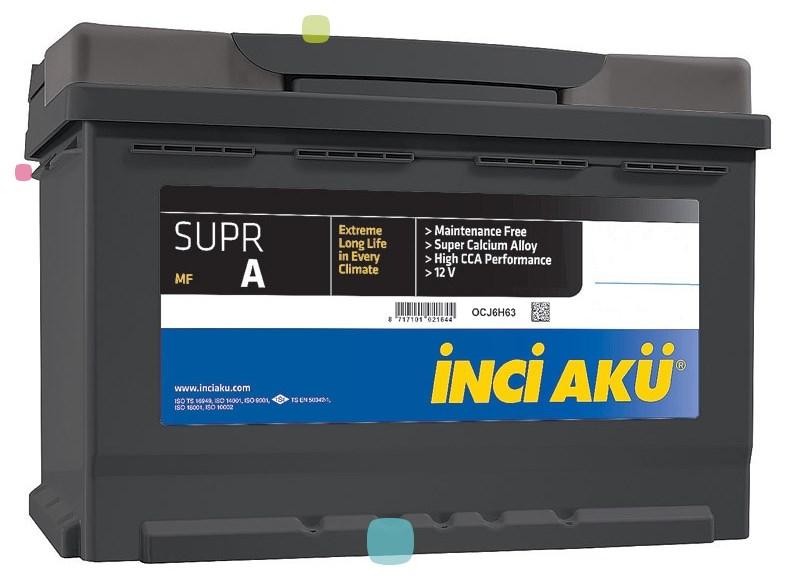 Аккумулятор Inci Aku SuprA (L2 060 054 113)
