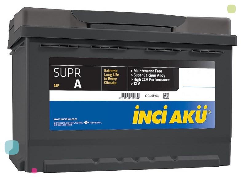 Аккумулятор Inci Aku SuprA (L3 075 070 013)