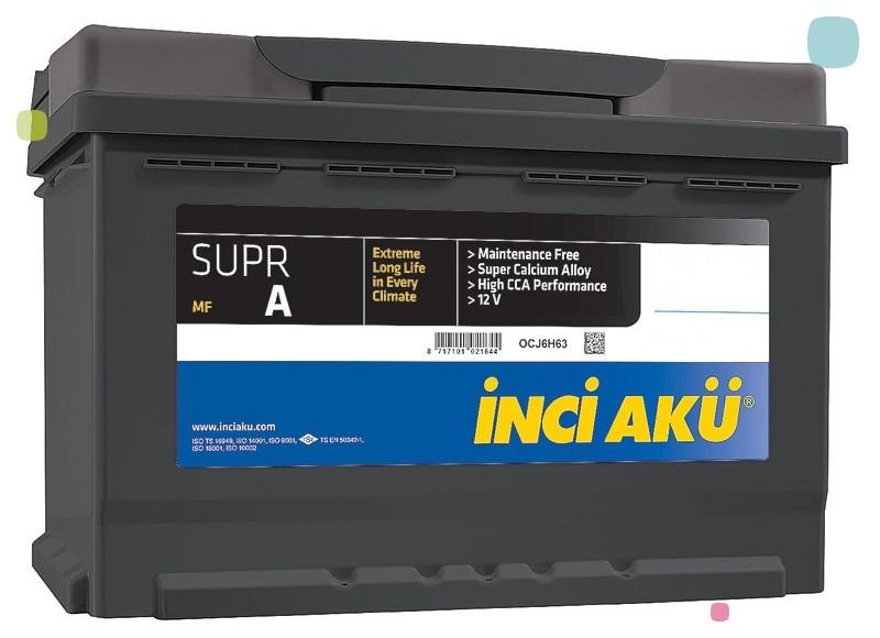 Аккумулятор Inci Aku SuprA (L5 092 076 013)