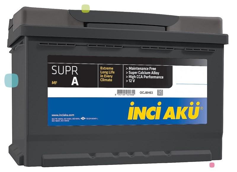Аккумулятор Inci Aku SuprA (L5 100 086 013)
