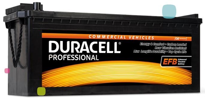 Аккумулятор Duracell DP 240 EFB (012 740 17 0801)