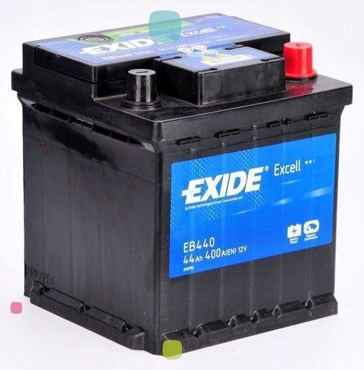Аккумулятор Exide Excell EB440