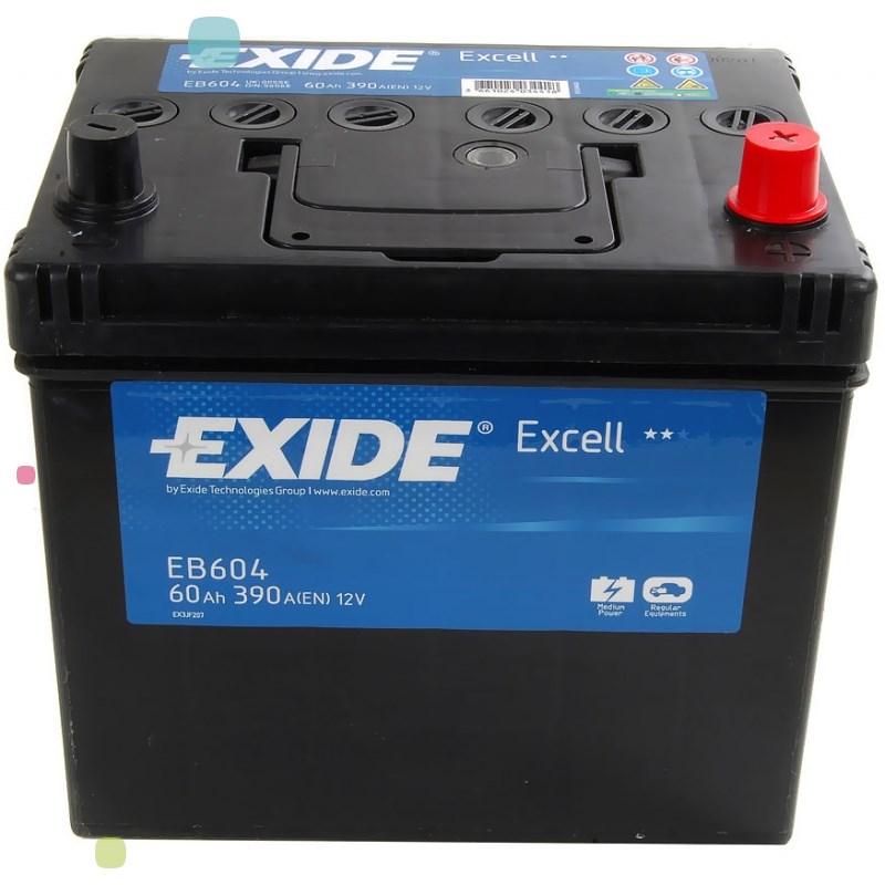 Аккумулятор Exide Excell EB604