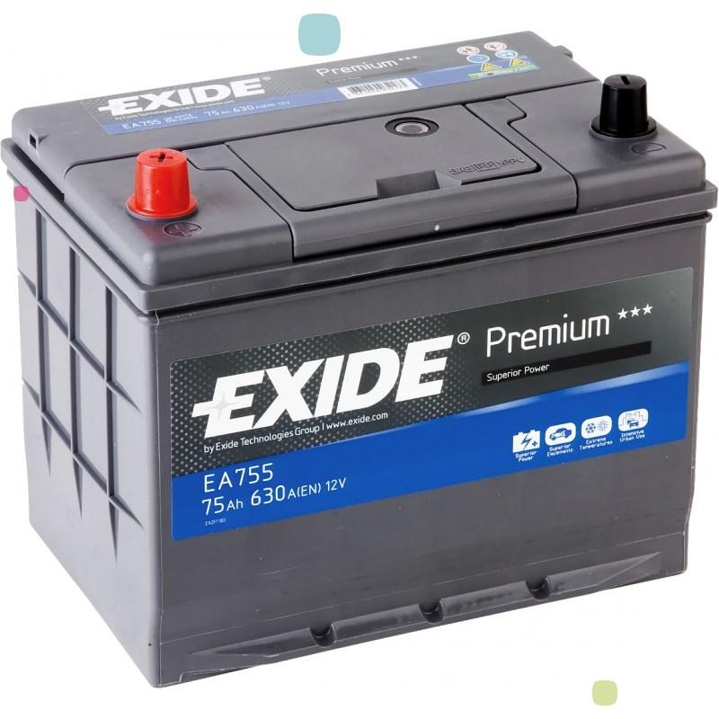 Аккумулятор Exide Premium EA755