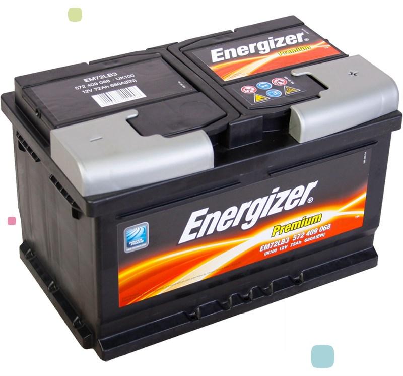 Аккумулятор Energizer Premium EM72-LB3